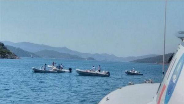 В Турции в результате крушения яхты трое людей числятся пропавшими без вести