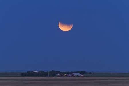 «Кровавую» луну жители Москвы смогут увидеть 7 августа