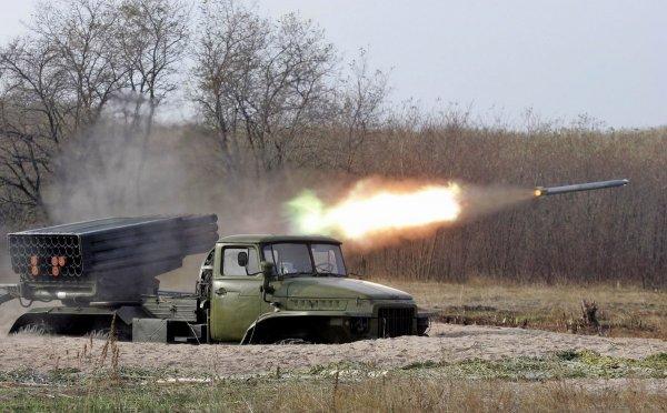ДНР: Солдаты ВСУ «Градом» ударили по позициям «Правого сектора»