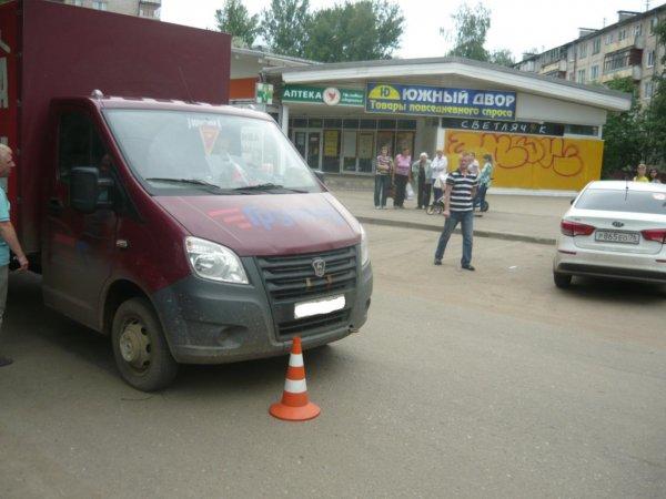 11-летняя девочка в Ярославле попала под колеса грузовой «ГАЗели»