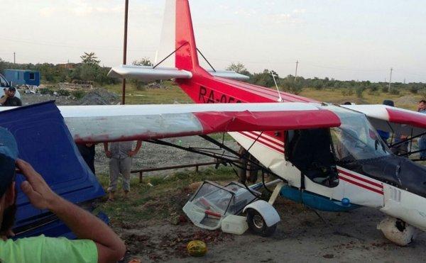 В Чечне попавший в ДТП с самолетом пилот летал в магазин за водичкой