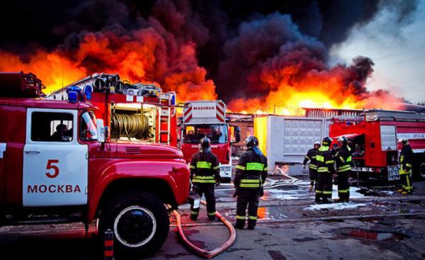 В Крыму сгорел несанкционированный детский лагерь