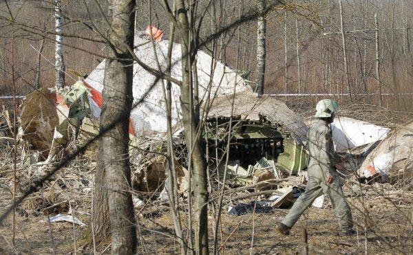 В СК не согласны с выводами Польши о взрыве на борту самолёта Качиньского