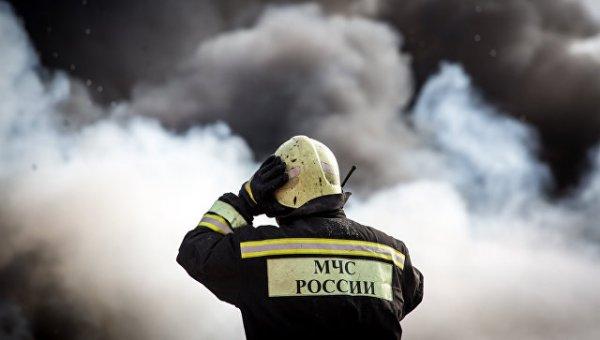 В Смоленске в результате пожара на швейной фабрике скончалась кладовщица