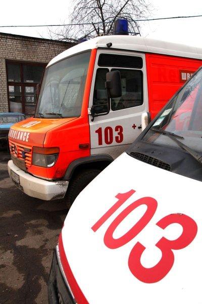 В Салавате машина скорой помощи попала в ДТП по вине пешехода