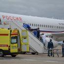 Спецборт МЧС доставил тяжело раненную девочку из Челябинска в Москву