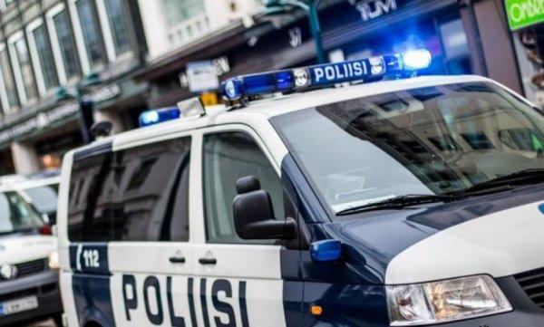 Появилось видео задержания мужчины, устроившего резню в финском Турку
