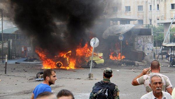 Мощный взрыв прогремел на окраине сирийского города Латакия