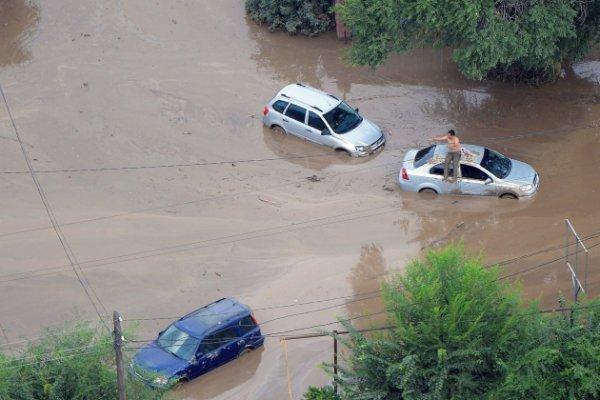 В Судаке объявили режим чрезвычайной ситуации из-за схода селя