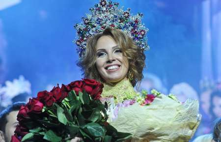 Полина Диброва победила в конкурсе «Миссис Россия 2017»