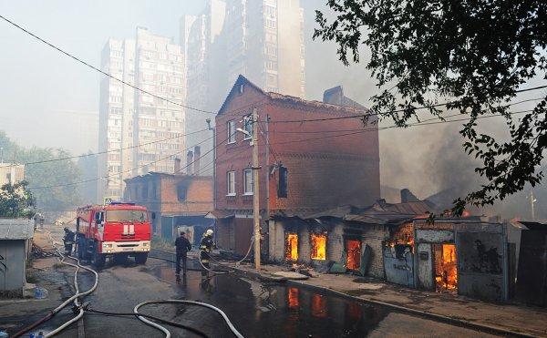 Пучков: Всем пострадавшим от пожара в Ростове будет оказана индивидуальная помощь