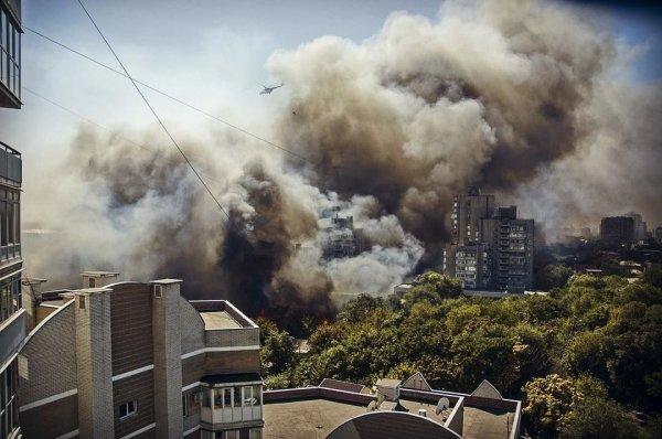 После крупного пожара в Ростове возбуждено дело о халатности чиновников