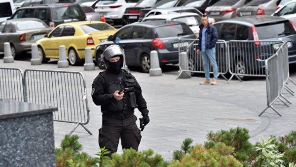 Появилась видеозапись взрыва в центре Киева