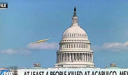 НЛО пролетел над зданием Капитолия в США во время прямого выпуска новостей. ФОТО, ВИДЕО