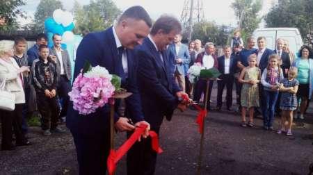Мэр Томска Иван Кляйн торжественно открыл колонку с водой