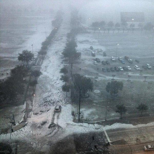 В Хьюстоне здание генконсульства России оказалось в зоне подтопления