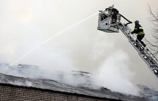 В Красноярске в доме престарелых произошел пожар
