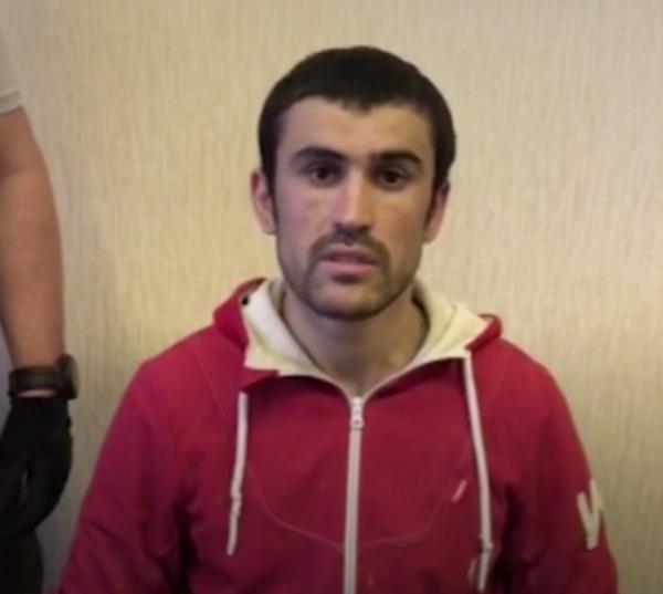 ФСБ показали ролик признания боевика о подготовке теракта в Москве