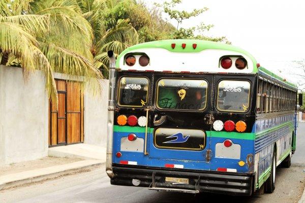 В Никарагуа погибли 9 человек в результате съехавшего автобуса в реку