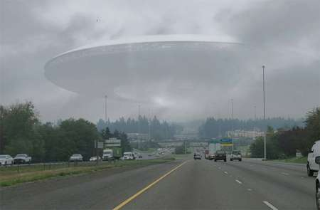 Уфологи заметили НЛО во время урагана «Харви» над Техасом. ФОТО