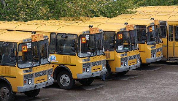В Ростове-на-Дону автобусы с детьми попали в аварию