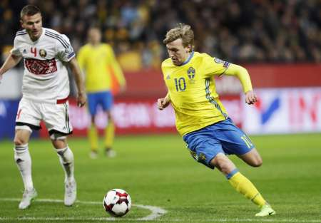 Беларусь – Швеция, отборочный тур ЧМ-2018 3.09.2017: прямая онлайн трансляция, прогноз на матч