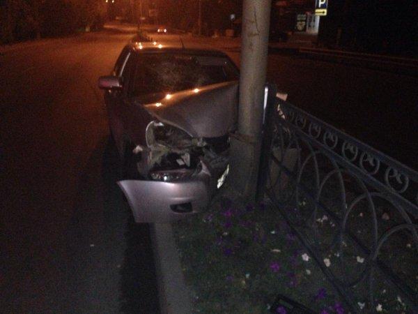 Полицейский из Ингушетии без прав устроил пьяное ДТП в Пятигорске