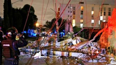 Землетрясение в Мексике 8 сентября. ФОТО, ВИДЕО