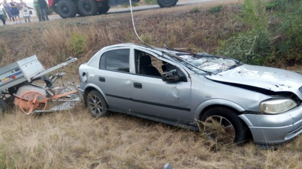 В ДТП при участии Opel Astra на оренбургской трассе погиб молодой водитель