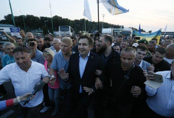 Саакашвили обвиняет украинскую полицию в краже его паспорта