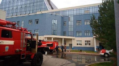 В Сургуте 800 человек эвакуировали из здания университета из-за пожара