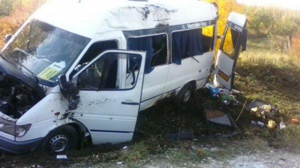 В Челябинске попал в аварию автобус с детской футбольной командой