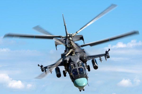 Вертолет Ка-52 неумышленно открыл огонь по зрителям на учениях