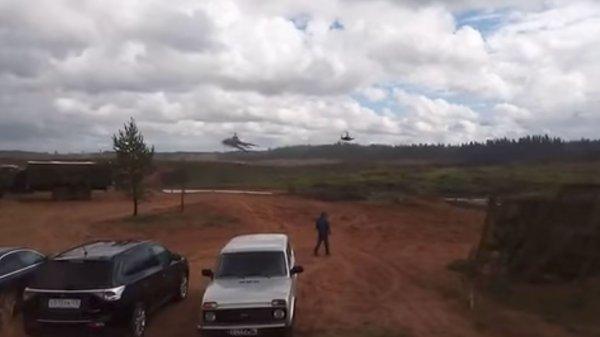 В Минобороны рассказали о причинах залпа Ка-52 по зрителям на