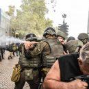 Родные погибших детей прорвались в мэрию Одессы