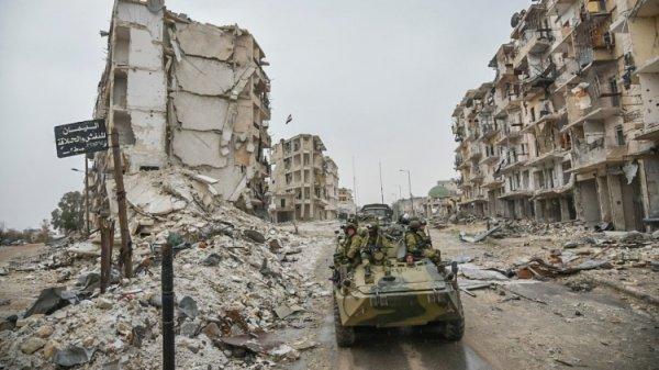 Видео ударов по окружившим российских военных боевикам появилось в сети