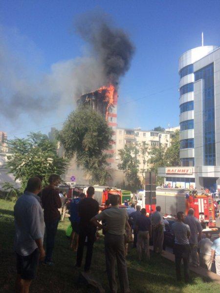 Сгоревший отель в Ростове был построен с нарушениями - МЧС