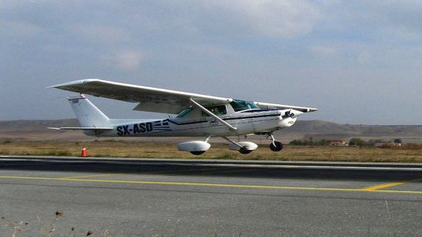 В Греции разбился частный самолет, есть погибшие