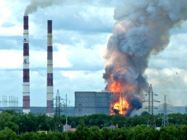 На Рязанской ГРЭС произошел взрыв, есть пострадавшие