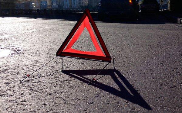 На Тамбовской трассе под Липецком произошло ДТП, образовалась пробка