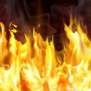 В Петергофе загорелась школа, 900 человек эвакуировано