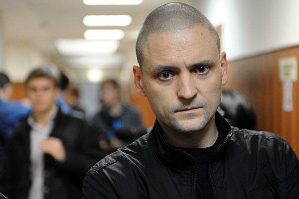 Удальцов арестован судом на 5 суток за несанкционированный митинг