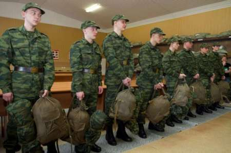 Владимир Путин подписал указ об осеннем призыве на военную службу