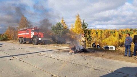 В Югре сотрудник ГИБДД насмерть сбил 15-летнего мотоциклиста