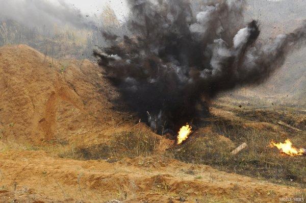 В Госслужбе Украины по ЧС проинформировали о прекращении взрывов под Винницей