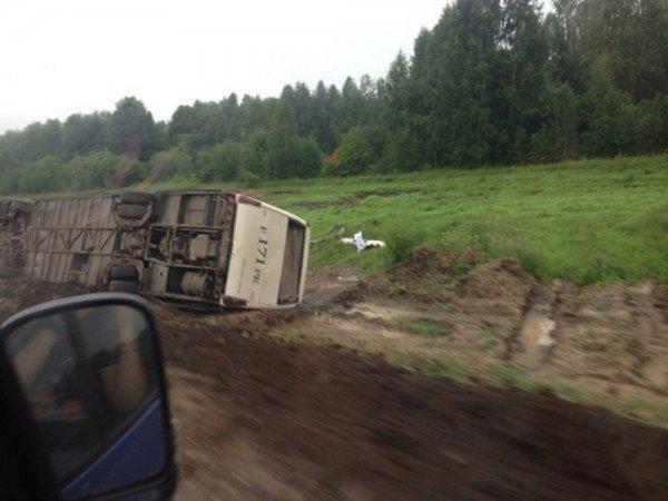 В Хабаровском крае в ДТП попал автобус с 44 пассажирами
