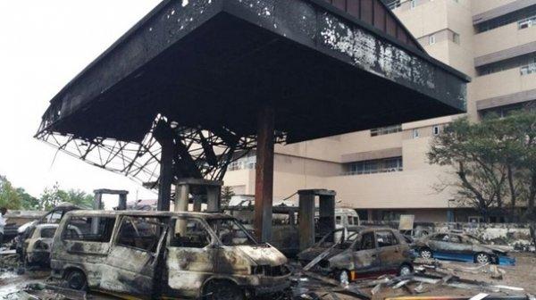 Столицу Ганы сотряс взрыв на газовой станции