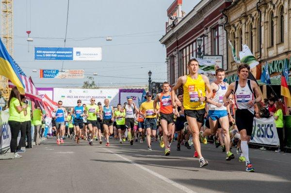 В Киеве на международном забеге умер марафонец