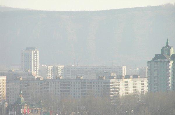 Хабаровск скрылся в дыму от лесных пожаров