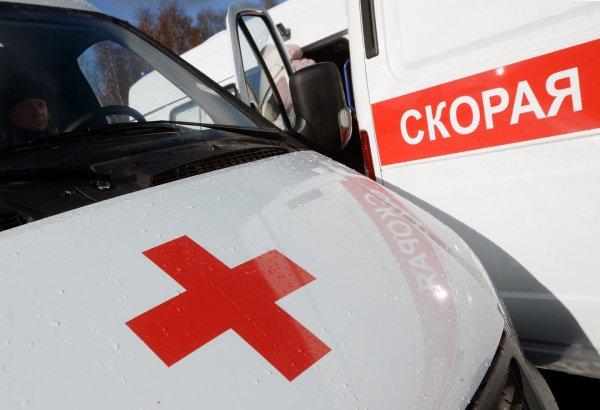 В Москве иномарка сбила полицейского на пешеходном переходе